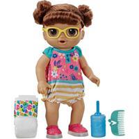 Boneca Baby Alive Sapatinhos Brilhantes Morena - Hasbro