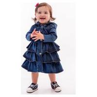 Casaco Mrx Jeans Bebe Azul