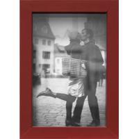 Porta Retrato Caixa Liso 10X15 Vermelho