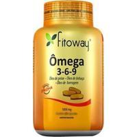 Omega 3-6-9 - 120 Cápsulas - Fitoway - Unissex