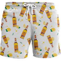 Shorts John Fisher John Fisher Tequila Amarelo