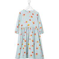 Stella Mccartney Kids Vestido Com Estampa Geométrica - Azul