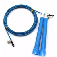 Corda De Pular Yangfit Com Cabo De Aço Speed Rope 3 Metros