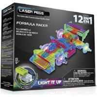 Blocos De Montar Laser Pegs Formula 1 12 Em 1 Azul
