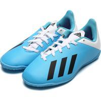Chuteira Adidas Menino X 19 4 In Jr Azul