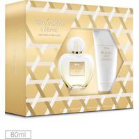 Kit Perfume Her Golden Secret Antonio Banderas 80Ml