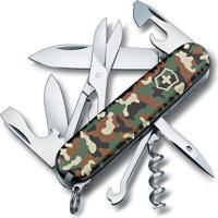 Canivete Climber Camuflado Com 14 Funã§Ãµes- Inox & Verde Victorinox