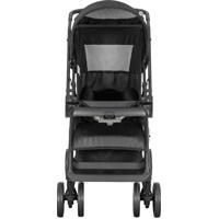 Carrinho De Bebê Tutti Baby Black 4 Posições Até 15Kg Preto
