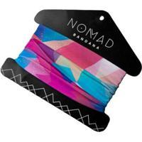 Bandana Para Ciclismo Nomad Prisma - Unissex-Rosa