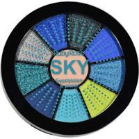 Mini Paleta De Sombras Sky - Ruby Rose Sky Multico