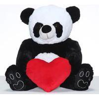 Urso Panda Fofo Com Coração W.U - M