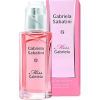 Perfume Miss Gabriela Sabatini Feminino Eau De Toilette