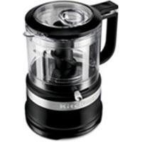 Miniprocessador De Alimentos Kitchenaid Onyx Black Com 02 Velocidades,Capacidade De 0,8 Litros-Kja03Be
