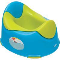 Troninho Infantil Azul E Verde Buba Multicolorido