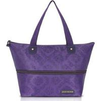 Bolsa Expansível Jacki Design Estampada - Feminino-Roxo