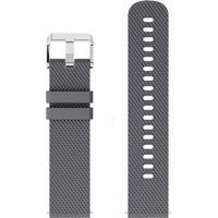 Pulseira De Silicone Tudo Smartwatch Para Xiaomi Amazfit Bip Lite Cinza