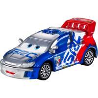 Carrinho Em Diecast Prata - Disney Cars - Raoul Caroule - Mattel - Masculino