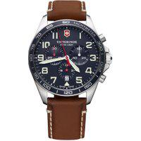 Relógio Victorinox Swiss Army Masculino Couro Marrom - 241854