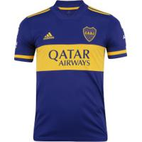 Camisa Boca Juniors I 20/21 Adidas - Masculina - Azul Escuro