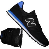 Tênis New Balance 373 Preto E Azul