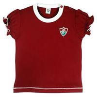 Camiseta Baby Look Bebê Menina Fluminense Oficial 521f84faa7d8b