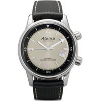 Alpina Relógio Seastrong Heritage Diver 42Mm - White-Blue