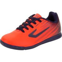 Chuteira Infantil Unissex Futsal Strike Topper - Tp01300004 Coral 31