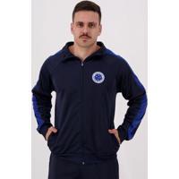 Agasalho Cruzeiro Trilobal Kin Masculina - Masculino-Azul