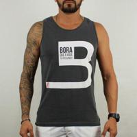 Regata Bora B Cinza - Masculino-Cinza