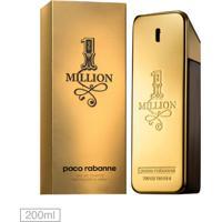 Perfume One Million Paco Rabanne 200Ml - Incolor - Masculino - Dafiti