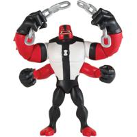 Mini Figura Articulada 10 Cm - Ben 10 - Four Arms - Sunny - Masculino-Incolor
