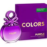 Perfume Feminino Colors Purple Benetton Eau De Toilette 50Ml - Feminino-Incolor