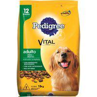 Ração Para Cães Pedigree Vital Pro Adultos Sabor Carne E Vegetais 18Kg
