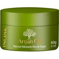Inoar Óleo De Argan - Máscara De Tratamento Intensivo 60G - Unissex-Incolor