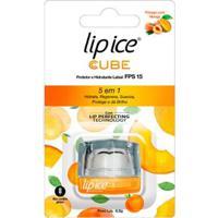 Protetor Labial Lip Ice Cube Fps 15 Pêssego E Manga - Unissex