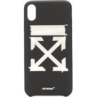 Off-White Capa Para Iphone Xs Tape Arrows - Preto