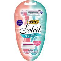 Aparelho De Barbear Bic Soleil Sensitive 2 Unidades