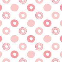 Papel De Parede Quartinhos Adesivo Texturizado Infantil Bolinhas Em Rosa 2,70X0,57M