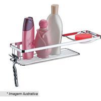 Suporte Para Shampoo & Sabonete- Prateado- 7X39X11Cmfuture