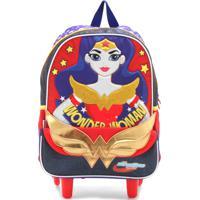 e96efb4c8 Dafiti; Mochila De Rodinhas Sestini Super Hero Girls Vermelha