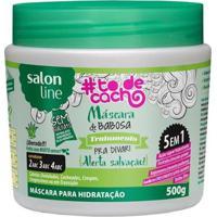 Máscara De Babosa #Todecacho - Tratamento Para Divar - 500Gr - Unissex-Incolor
