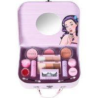 Maleta De Maquiagem Fenzza - Retro G Kit - Feminino-Incolor
