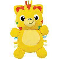 Tigre De Pelúcia Winfun 0196-Ni Amiguinho Do Bebê Amarelo
