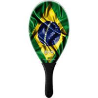 Raquete De Frescobol Evo Fibra De Vidro Brasil