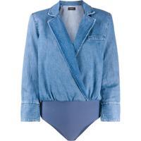 Pinko Body Blazer Jeans - Azul