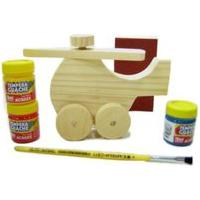 Kit Kits For Kids Mini Helicóptero Multicolorido