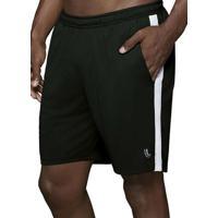 Shorts Masculino Running Lupo 76350-001 9990-Preto