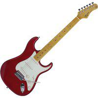 Guitarra Strato 6 Cordas Woodstock Vermelha Tg530Mr Tagima