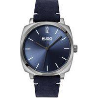 Relógio Hugo Boss Masculino Couro Azul - 1530069