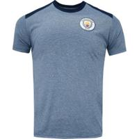 Camiseta Manchester City Dry Dominic - Masculina - Azul Mescla